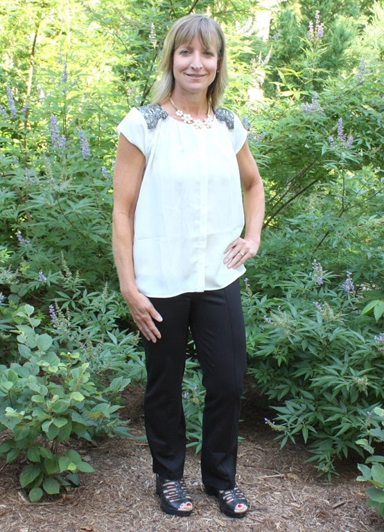 August 2016 Stitch Fix Review - Lysse Izzie Striaght Leg Pant - virginiasweetpea.com