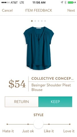 Collective Concepts Basinger Shoulder Pleat Blouse