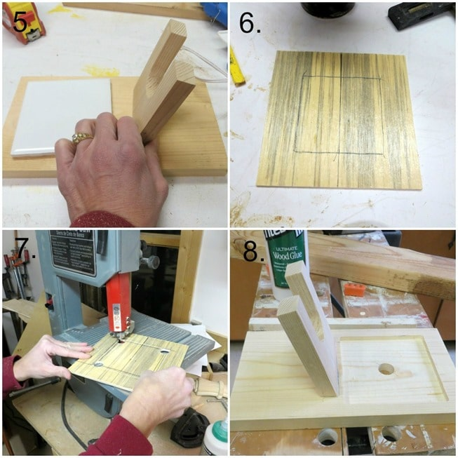 How to Make a Glue Gun Holder