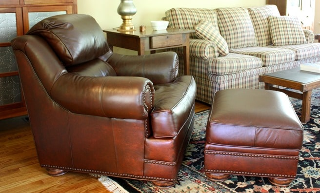 Leather Chair Makeover with ReLuv 8