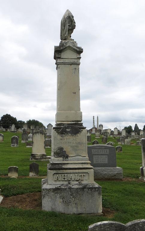 Phoebe Ahalt Grave