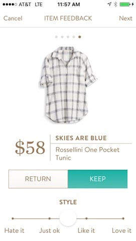 Skies are Blue Rossellini One Pocket Tunic