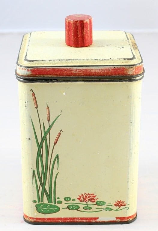 Vintage 1938 Kitchen Canister