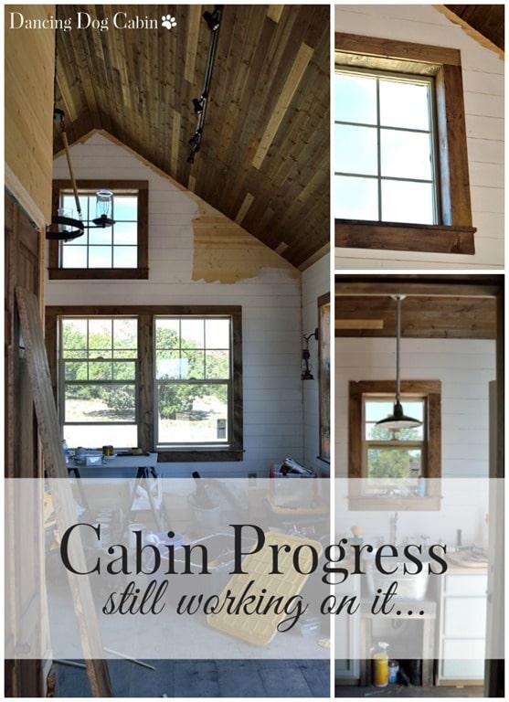 cabin progress WM