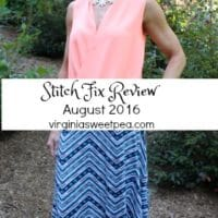 August 2016 Stitch Fix Review (Fix #38)