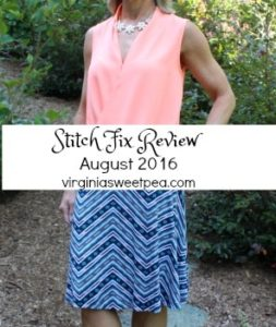 Stitch Fix Review for August 2016 #stitchfix