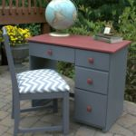 Child's Desk Makeover