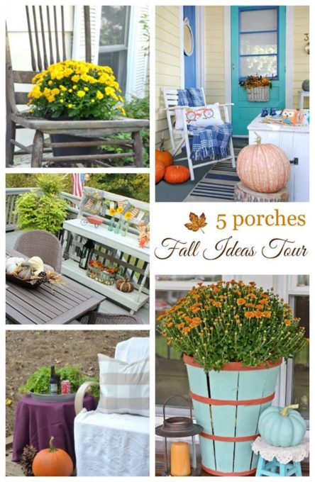 Fall Ideas Tour - 5 Fall Porches