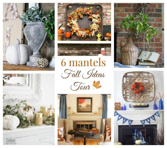 Fall Ideas Tour - 6 Mantels
