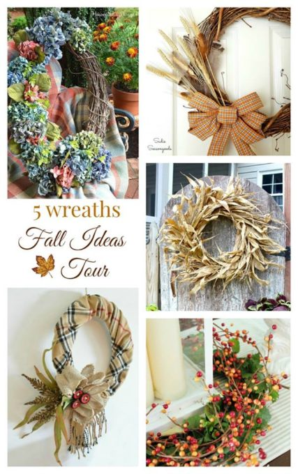 Fall Ideas Tour- 5 Wreaths