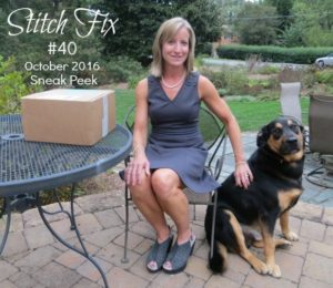Stitch Fix for October 2016 - Sneak Peek!