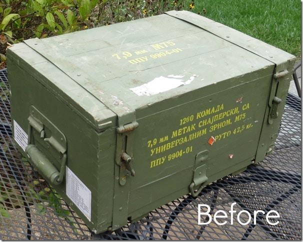Mauser 8mm Ammunition Crate