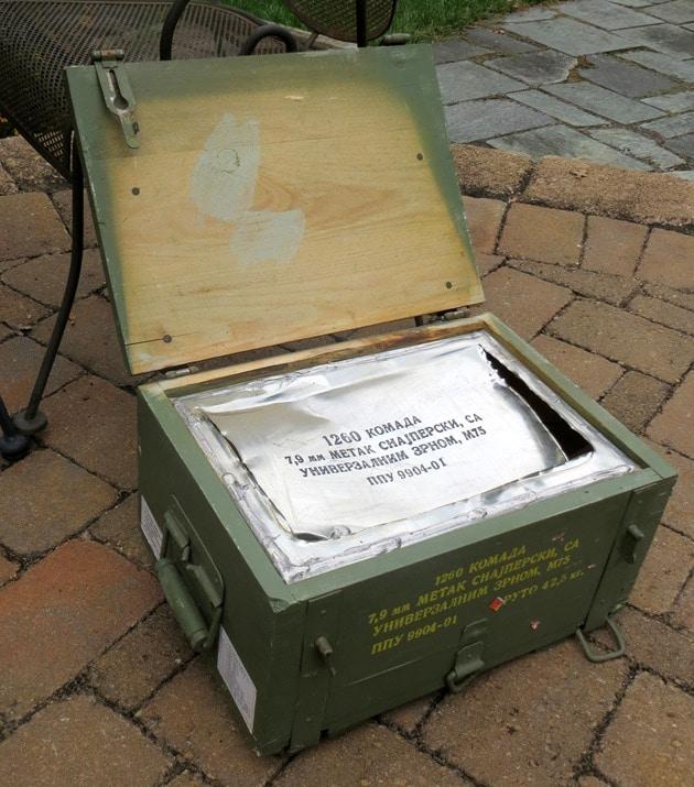 Ammunition Crate Interior