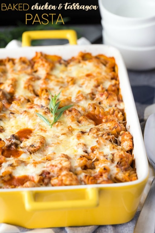 chicken-and-tarragon-pasta-bake-text