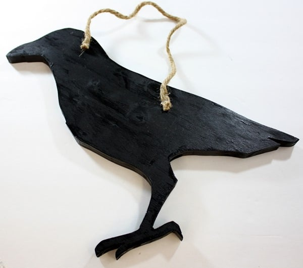 How to Make a DIY wood crow (Tutorial)