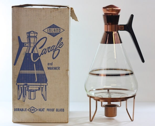 Mid-Century Inland Carafe and Warmer