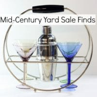 Mid-Century Yard Sale Finds