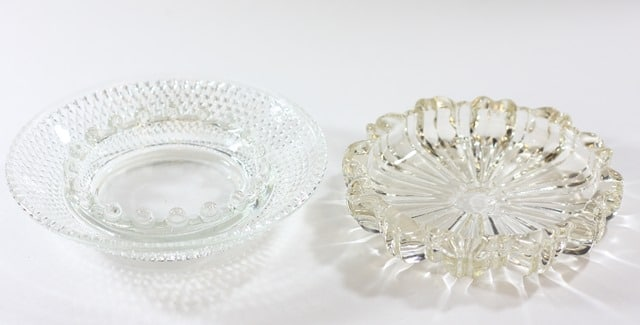 Vintage Glass Ashtrays