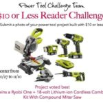$10 Power Tool Project Challenge