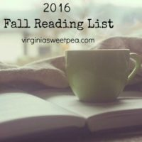 2016 Fall Reading List