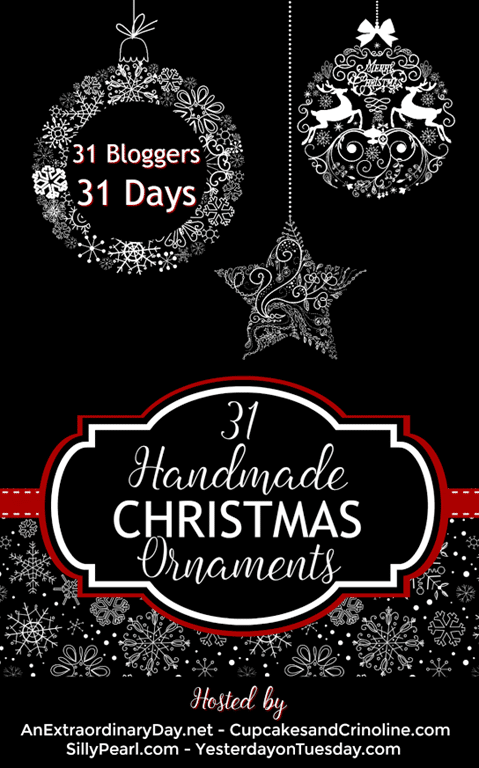 31 Handmade Christmas Ornaments-Ideas to Inspire