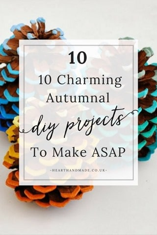 10 Charming Autumnal DIY Projects to Make ASAP