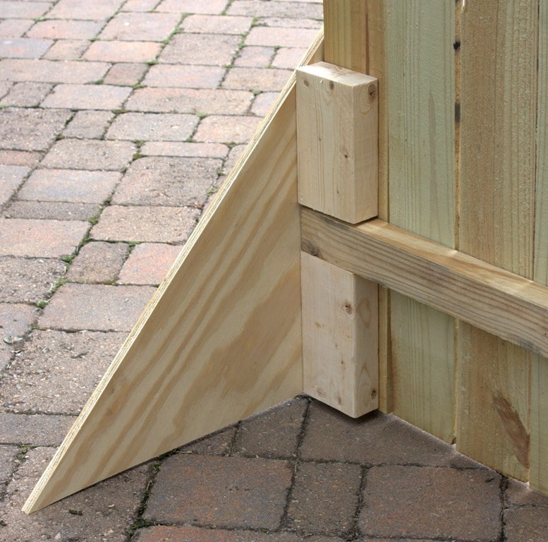 Diy folding display for shows and markets sweet pea for Free standing fence diy
