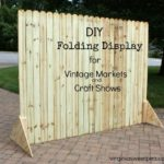DIY Folding Display for Shows and Markets