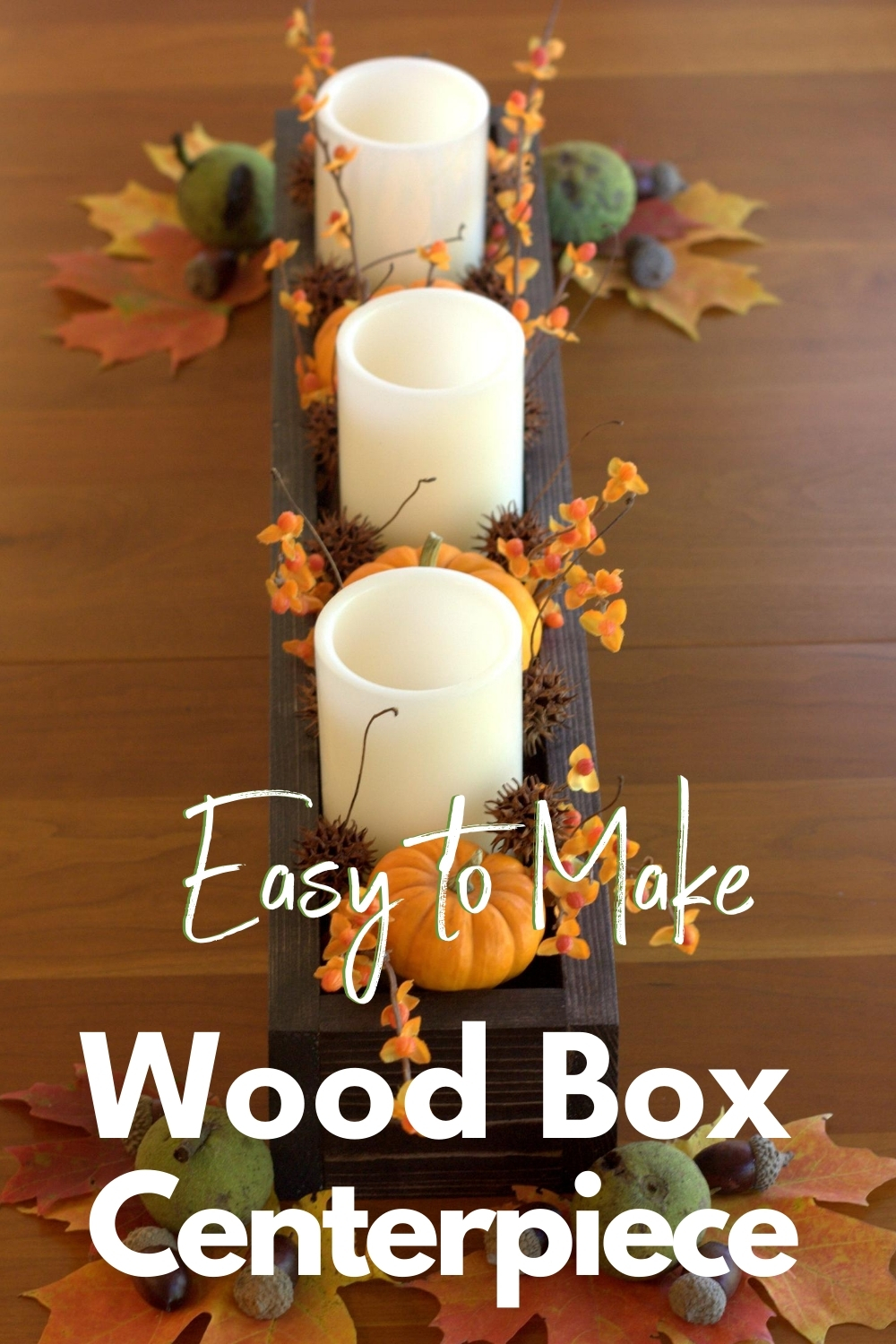 How To Make A Diy Wood Box Centerpiece For Less Than 10 Sweet Pea