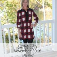 November 2016 Stitch Fix Review – Fix #41