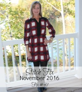 November 2016 Stitch Fix Review - Fix #41 - virginiasweetpea.com