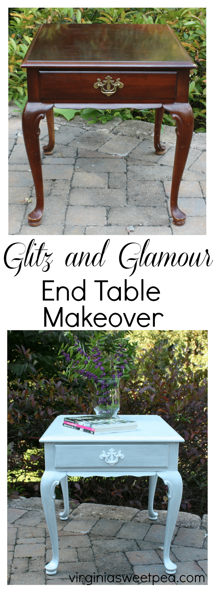 Glitz And Glamour End Table