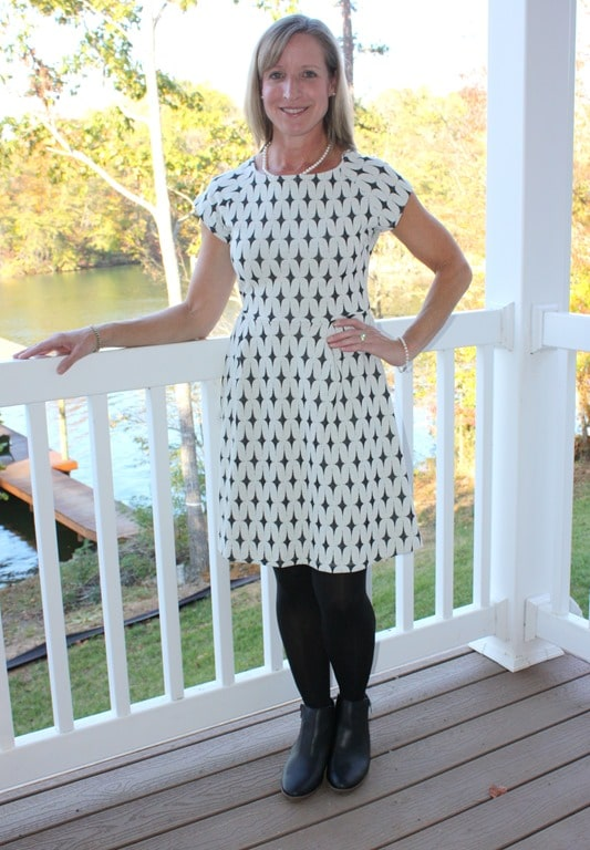 November 2016 Stitch Fix Review - Renee C Addae Knit Dress - virginiasweetpea.com