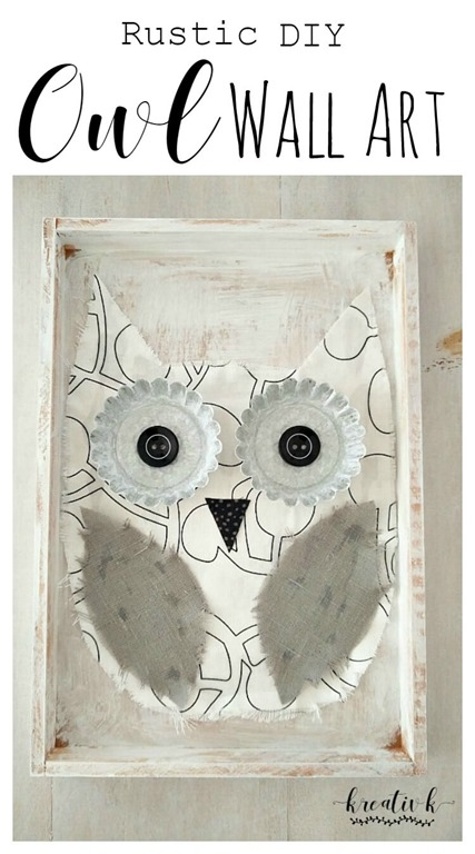 Rustic-DIY-Owl-Wall-Art-kreativk.net-6