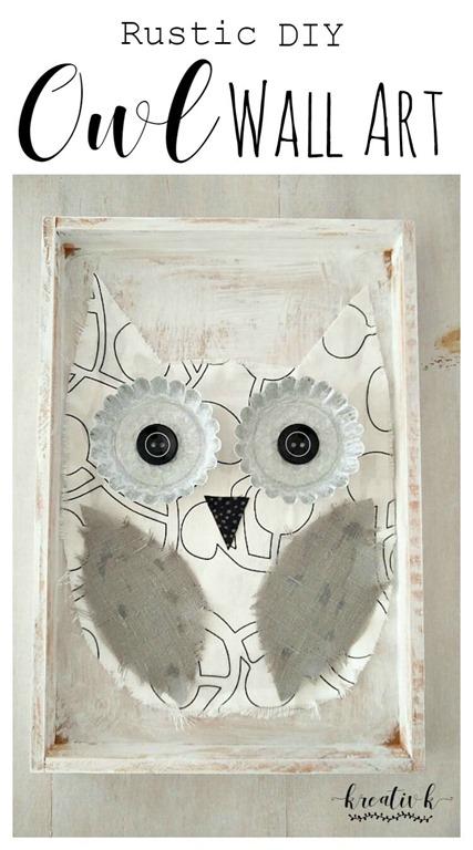 Rustic-DIY-Owl-Wall-Art-kreativk.net-6