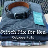 Stitch Fix for Men!