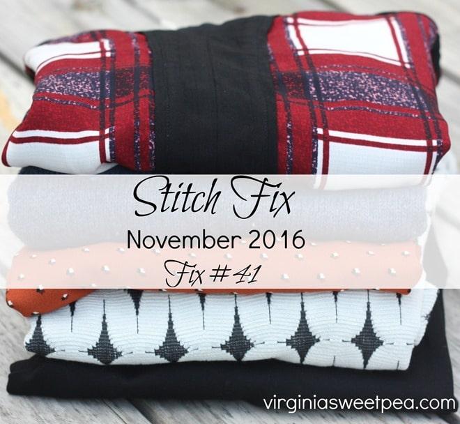 November 2016 Stitch Fix Review - Fix #41 - virginiasweetpea.com