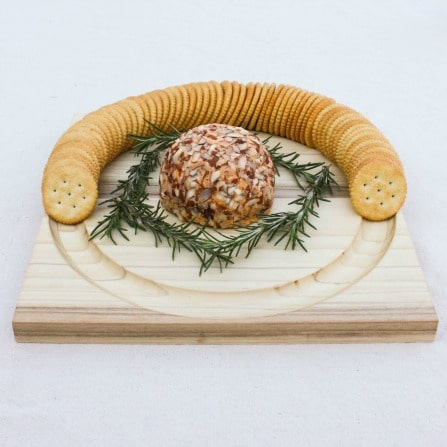 DIY Cheese and Crackers Serving Board - Learn how to make your own with this step-by-step tutorial. virginiasweetpea.com