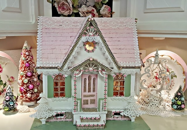 Dollhouse Makeover for Christmas