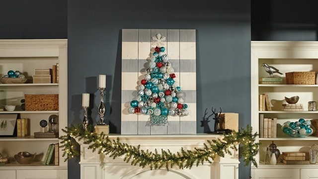 Holiday Ornament Display - DIHWorkshop with Home Depot