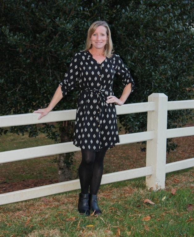 Stitch Fix Review and Giveaway - December 2016 - 41Hawthorn Cristen Shirt Dress - virginiasweetpea.com