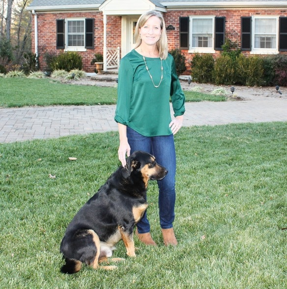 Stitch Fix Review and Giveaway - December 2016 - 41Hawthorn Breckinridge Crochet Detail Blouse - virginiasweetpea.com