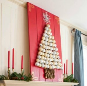 Holiday Ornament Display–Learn How to Make Your Own!