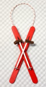 Popsicle-Stick-Ski-Ornament