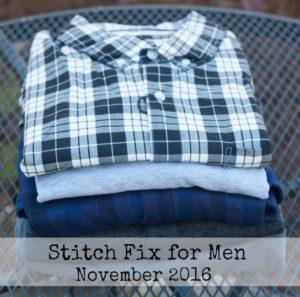 Stitch Fix for Men - November 2016 - Fix #2 - virginiasweetpea.com