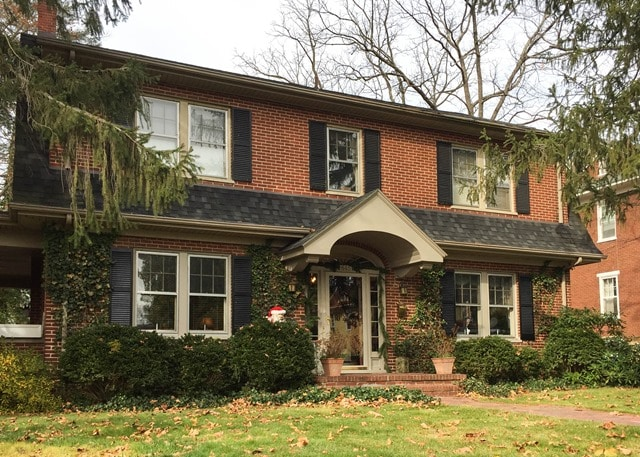 Christmas Home Tour in Waynesboro, VA - 1929 Dutch Colonial