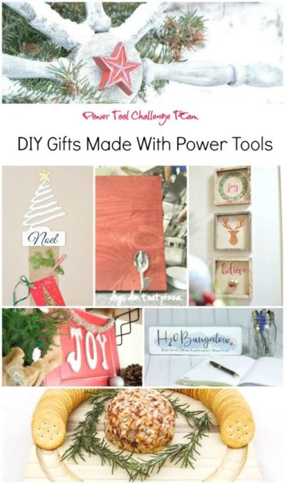 DIY Gifts Made With Power Tools