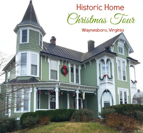 Christmas Tour of Historic Homes in Waynesboro, VA - Tour five homes decorated for the holdiays.