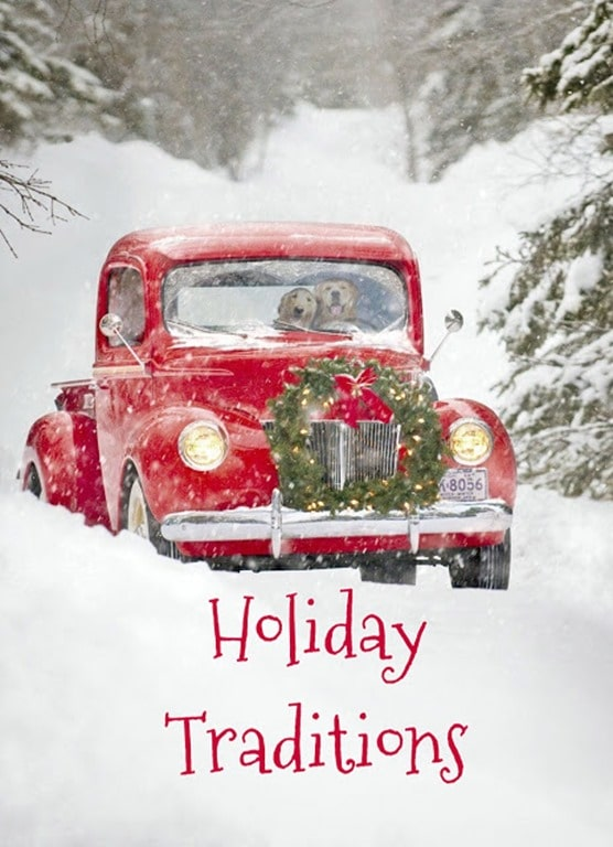 Holiday Traditions title