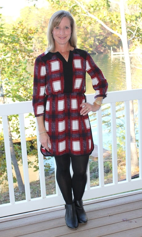November 2016 Stitch Fix Review - 41 Hawthorn Hellen Shirt Dress - virginiasweetpea.com